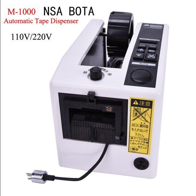 Distributeur automatique de bande de M-1000 de haute qualité, coupeur électronique de bande de distributeur de bande, approbation de la CE, type économique, hotsales