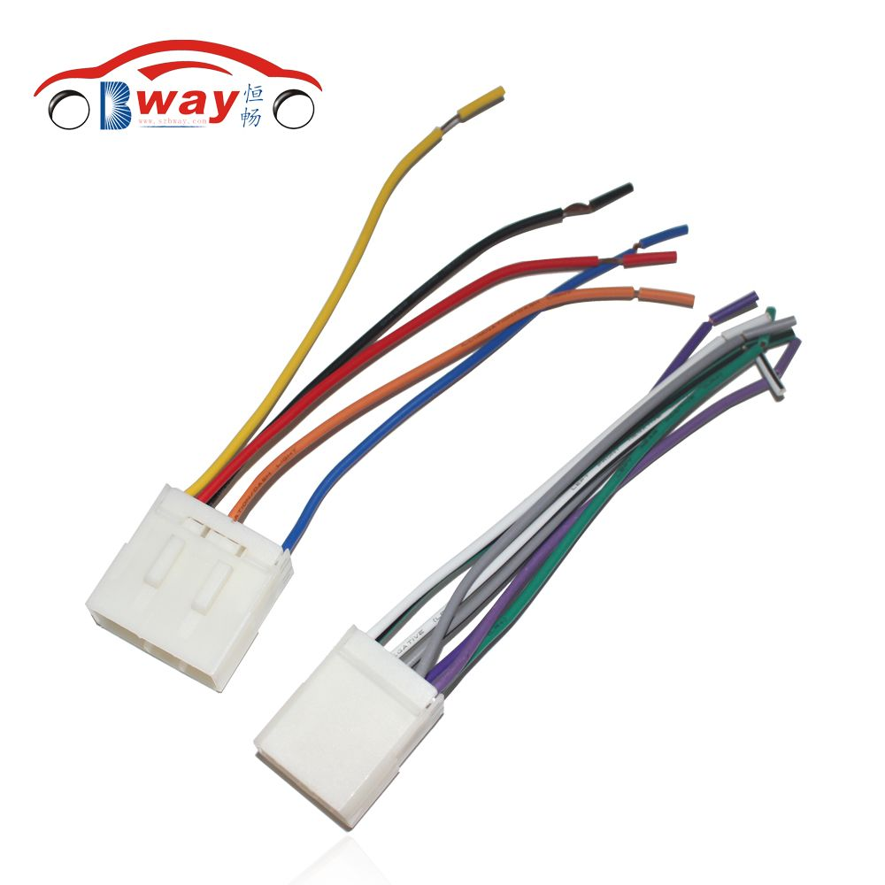 Car Stereo Female ISO Radio Plug Power Adapter Wiring Harness Special for Geely Emgrand ISO harness power cable