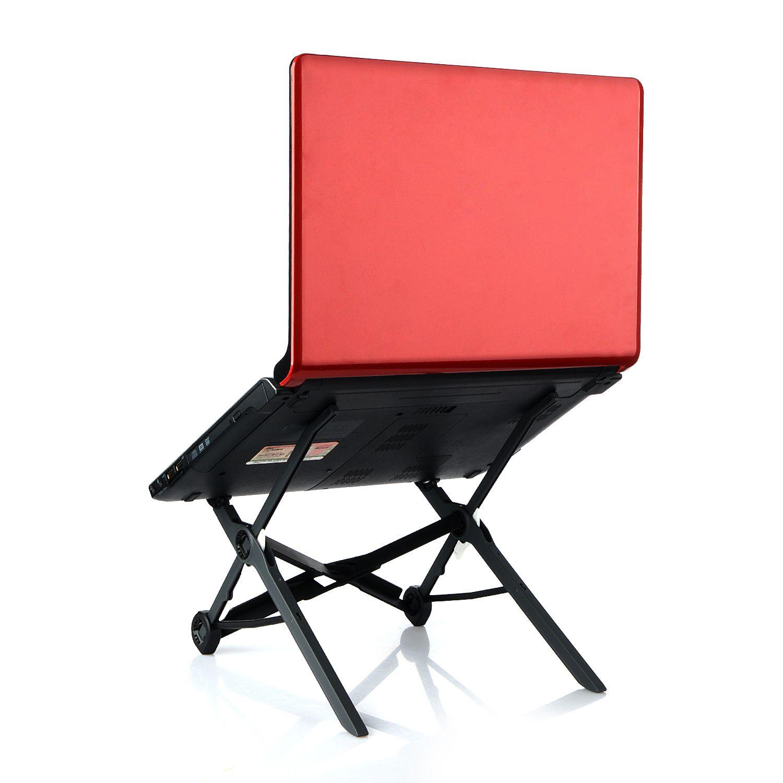 Adjustable Foldable Laptop Stand Holders Office Lapdesk Height Notebook PC Ergonomic Folding Laptops Holder Best Qaulity