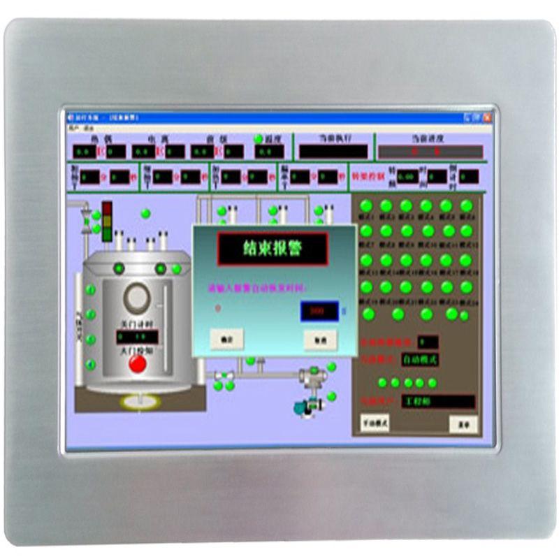 -20 + 60 arbeits temperatur I0.1 Zoll alle in einem pc touch screen industrie Panel PC für kiosk