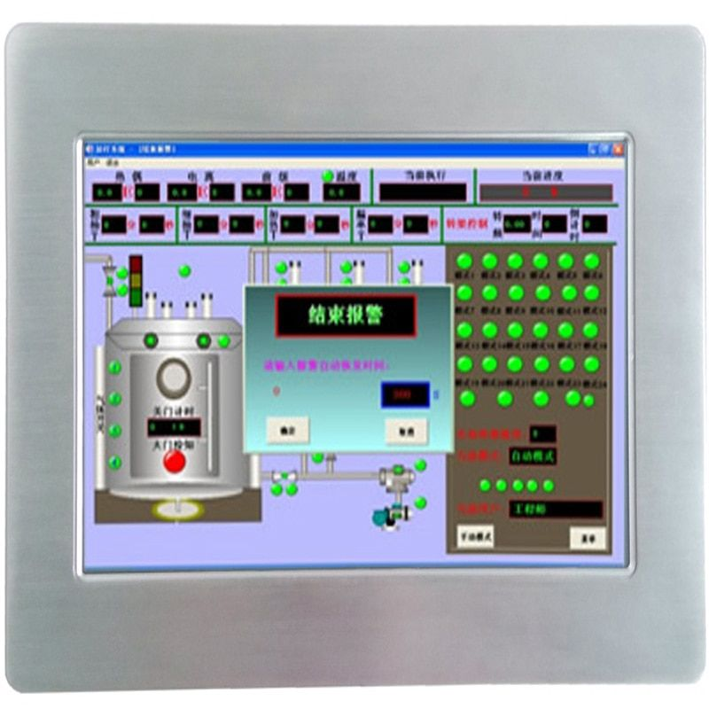 -20+60 working temperature I0.1 Inch all in one pc touch screen industrial Panel PC
