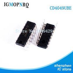 10 Pcs CD4049UBE DIP16 CD4049 CD4049BE Buffer dan Line Driver Hex Inverter Baru Asli Gratis Pengiriman