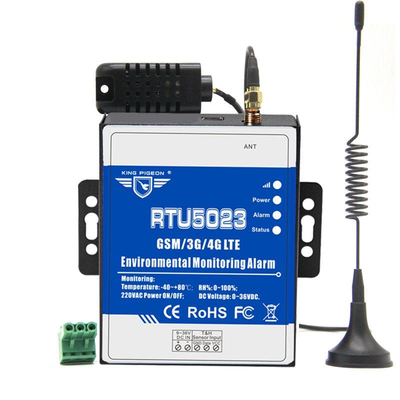 GSM 3G 4G RTU Température Humidité Alarme AC/DC Puissance Perdu Alerte À Distance Moniteur Soutien Minuterie Rapport APP Contrôle RTU5023