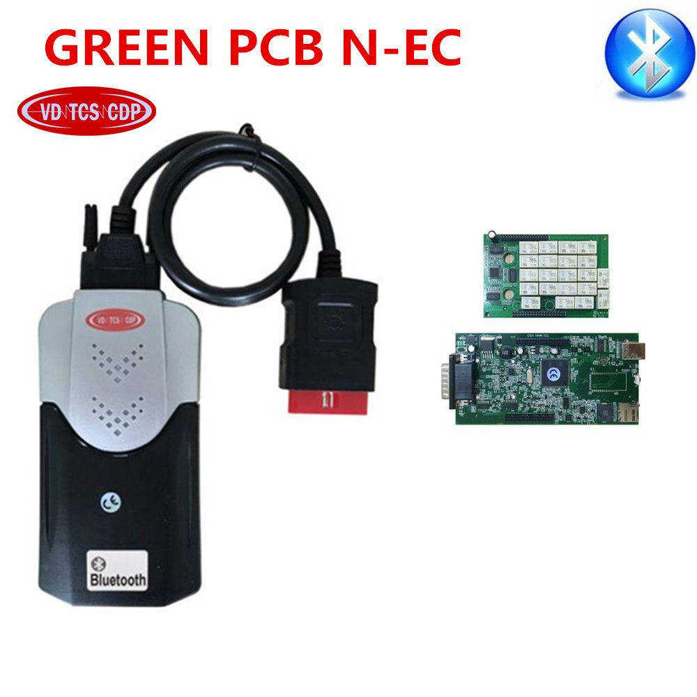 2018 newest VD ds150e cdp pro plus 2015.3 with keygen/2016.0 free activate bluetooth new vci with BEST Relay for delphis