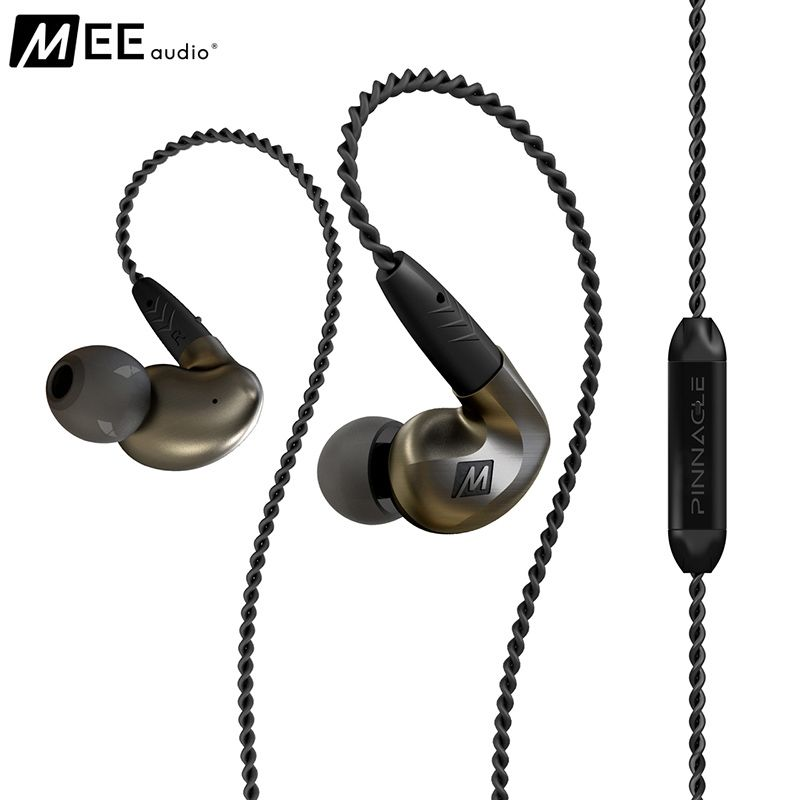 MEE Audio MEElectronics Pinnacle P1 P2 Audiophile Bass HIFI DJ Studio Monitor Music In-Ear Earphones w/ Detachable Cable