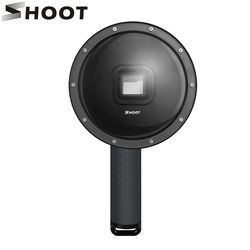 SHOOT 6 inch Diving Dome For GoPro Hero 6 5 Black Camera With Waterproof Case Go Pro Dome Port For Gopro Hero 6 Camera Accessory