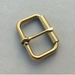 Stainless Steel Pin Gesper Sabuk Gesper dengan Roller Kulit Logam Koboi Belt Aksesoris Fitting Dalam Lebar 50 Mm