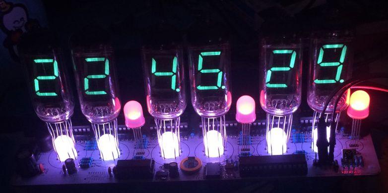IV-11 NB-11 leuchtstoffröhren, uhren, DIY kits, VFD rohre, kits, rohre, leuchtstoffröhren