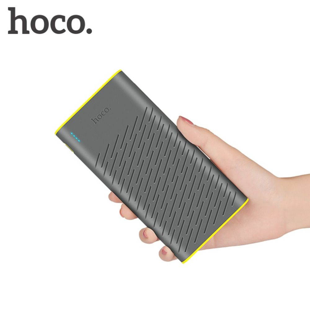 HOCO B31A Luz Portátil Banco de la Energía Dual USB 30000 mAh 18650 de Litio Cargador de Batería Para El Teléfono Móvil Con Indicador LED
