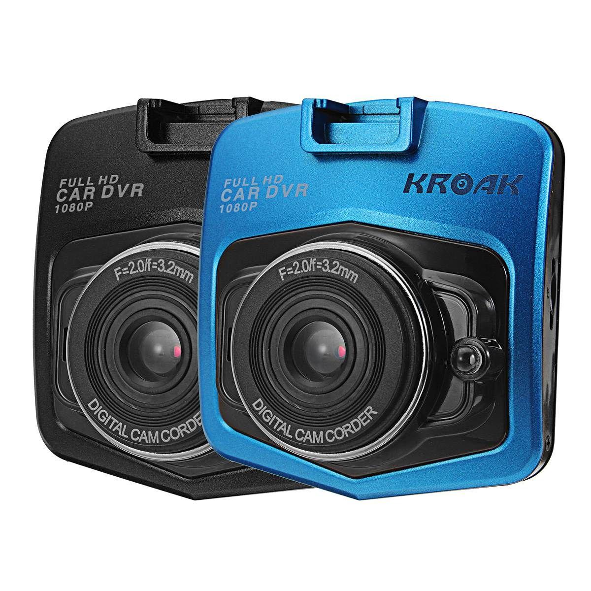 Kroak 720 p coche DVR cámara de vídeo en CAM Dash Cámara coche de la videocámara de 2.4 pulgadas g-sensor Dash cam visión nocturna del registrador