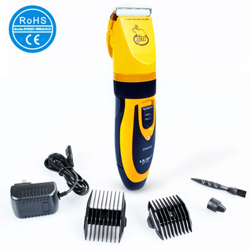 110-240V 35W Pet Clipper Dog Professional Electric Scissors Grooming Dog Cutting Trimmer Machine Clippers Hair Pet Cutters S125