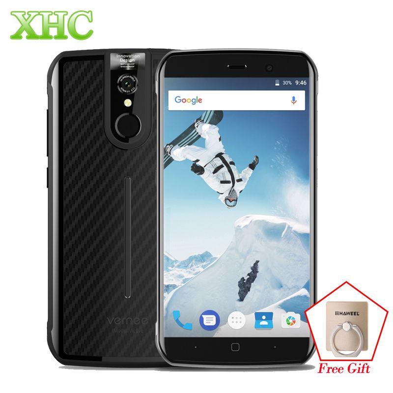 Vernee Active 6GB 128GB Mobile Phone 5.5'' IP68 Waterproof Android 7.0 Octa Core OTG NFC GPS 16.0MP LTE 4G Dual SIM Smartphones