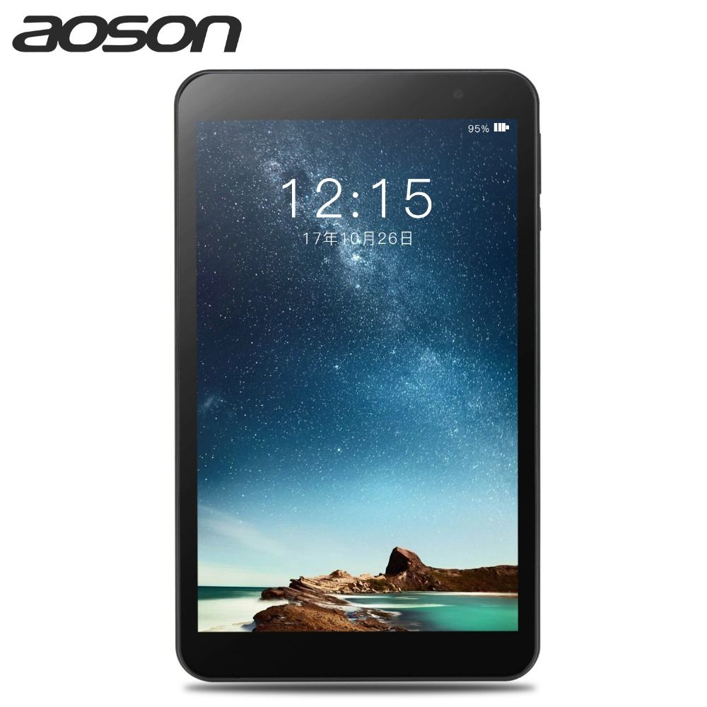Aoson M815 8 inch Android 7.0 Tablets PC 2GB+32GB Quad Core Dual Camera 1280*800 Bluetooth OTG External WIFI The tablet