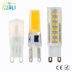 G9 Led Lampe Birne 220 V 3 W 5 W 7 W 9 W 10 W 12 W 15 W COB SMD Mini LED G9 Lampe Licht Keramik 360 Grad Strahl Winkel Led-strahler Lampen