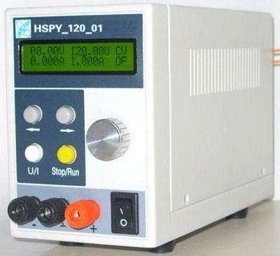 Schnelle ankunft Hspy120V8A DC programmierbare netzteil ausgang von 0-120 V, 0-8A einstellbar Mit RS232 port
