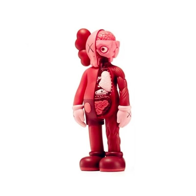 35CM KAWS Dissected Companion Brian OriginalFake Street Art BFF Action Figure Collectible Model Toy Medicom Toy L1638
