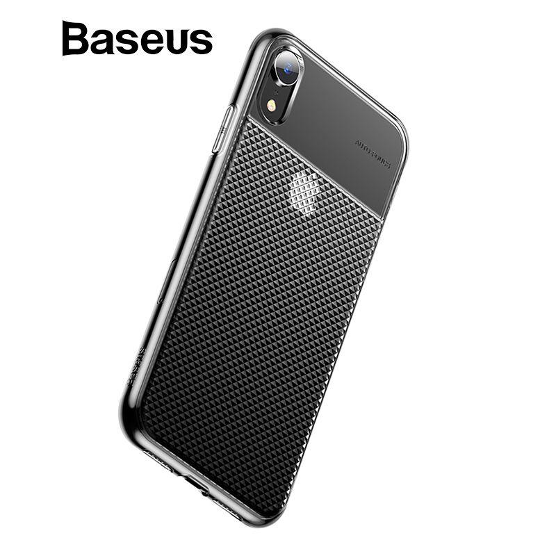 Baseus Kristall Weiche Silikon Fall Für iPhone XR Ultra Dünne TPU Zurück Abdeckung Für iPhone XR 6,1 2018 Telefon Fällen