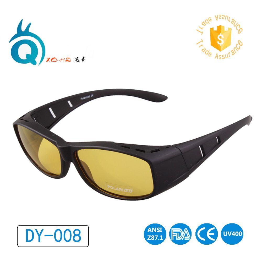 Pêche offre spéciale qualité lunettes de soleil polarisées hommes femmes lunettes de soleil conduite Gafas fit over lunettes de soleil couverture myopie cadre UV400