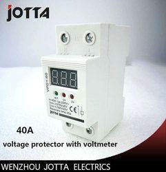 40A 220 В автоматический повторно перенапряжения и под напряжением защитные устройства реле с Вольтметр монитор напряжения