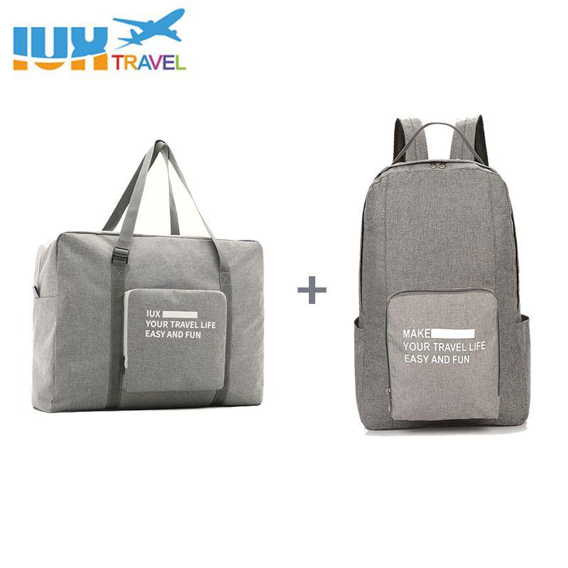 Hommes sacs de voyage imperméable en Nylon pliant pochette d'ordinateur grande capacité sac bagages sacs de voyage Portable femmes sacs à main