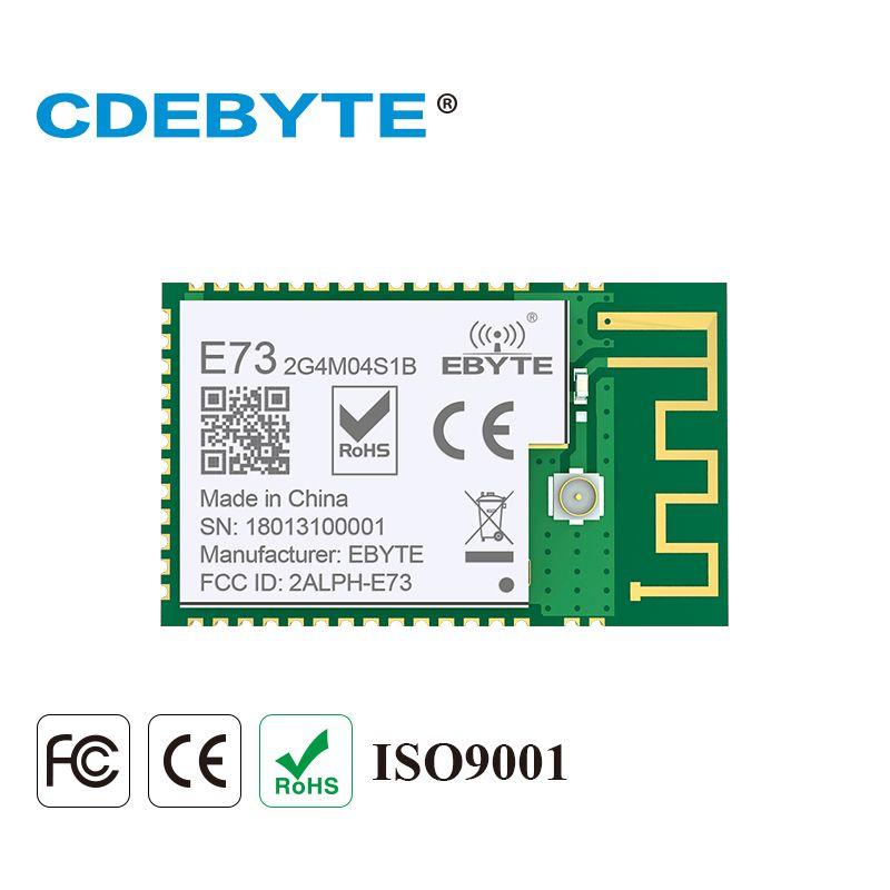 E73-2G4M04S1B Bluetooth ARM nRF52832 2.4Ghz 2.5mW IPX PCB Antenna IoT uhf Wireless Transceiver Ble 5.0 rf Transmitter Receiver