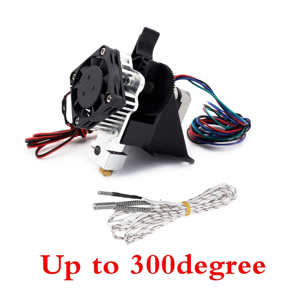 300degree Assembled 3D PrinterTitan Aero Upgrade V6 hotend extruder full kit titan extruder For Reprap mk8 Prusa i3 ANET printer