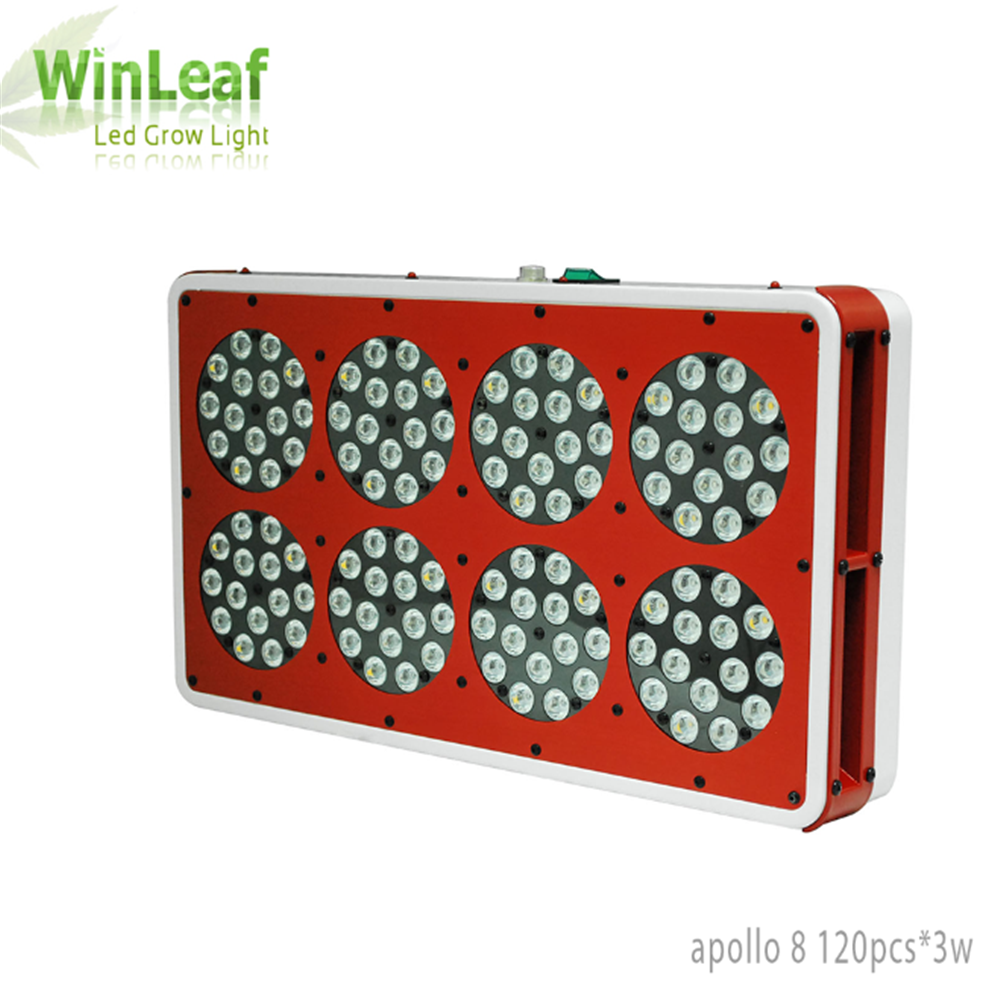 Apollo 8 Led Grow Lights Lamp for Plants 360W Full Spectrum Indoor Greenhouse Tent Hydroponic Medical LED Grow Light for plant