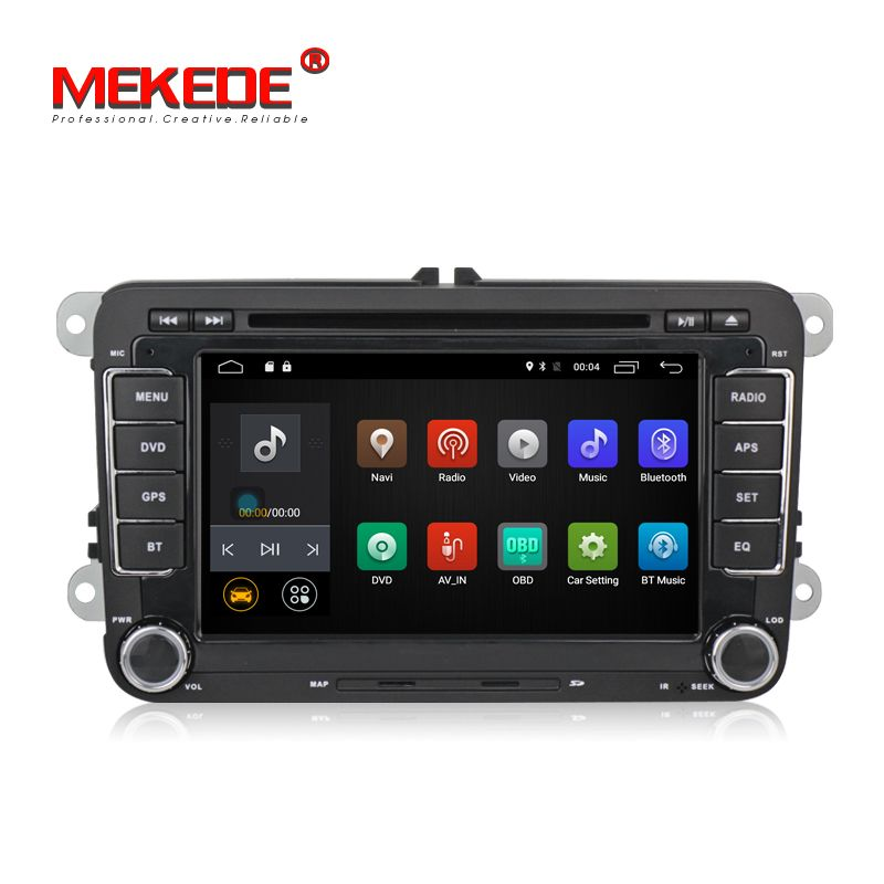 Free shipping!2 Din 7 Inch Car DVD Player For VW/Passat/POLO/GOLF/jetta golf 5 golf 6 passat cc Support iPod iPhone by USB Port
