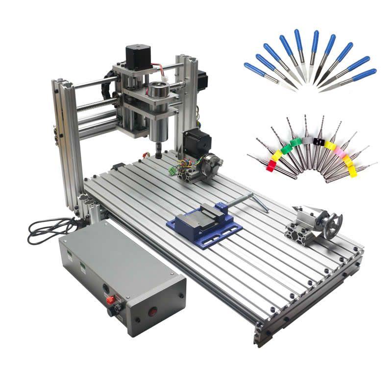 USB CNC 6020 5 achsen CNC router holz carving maschine holzbearbeitung fräsen gravur maschine