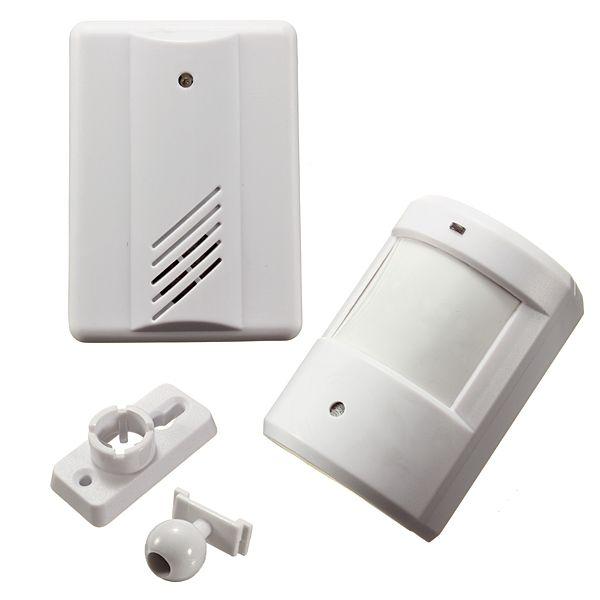 NEUE Safurance Infrarot Drahtlose Türklingel Alarm System Motion Sensor Home Security Sicherheits Einfahrt Patrol Garage