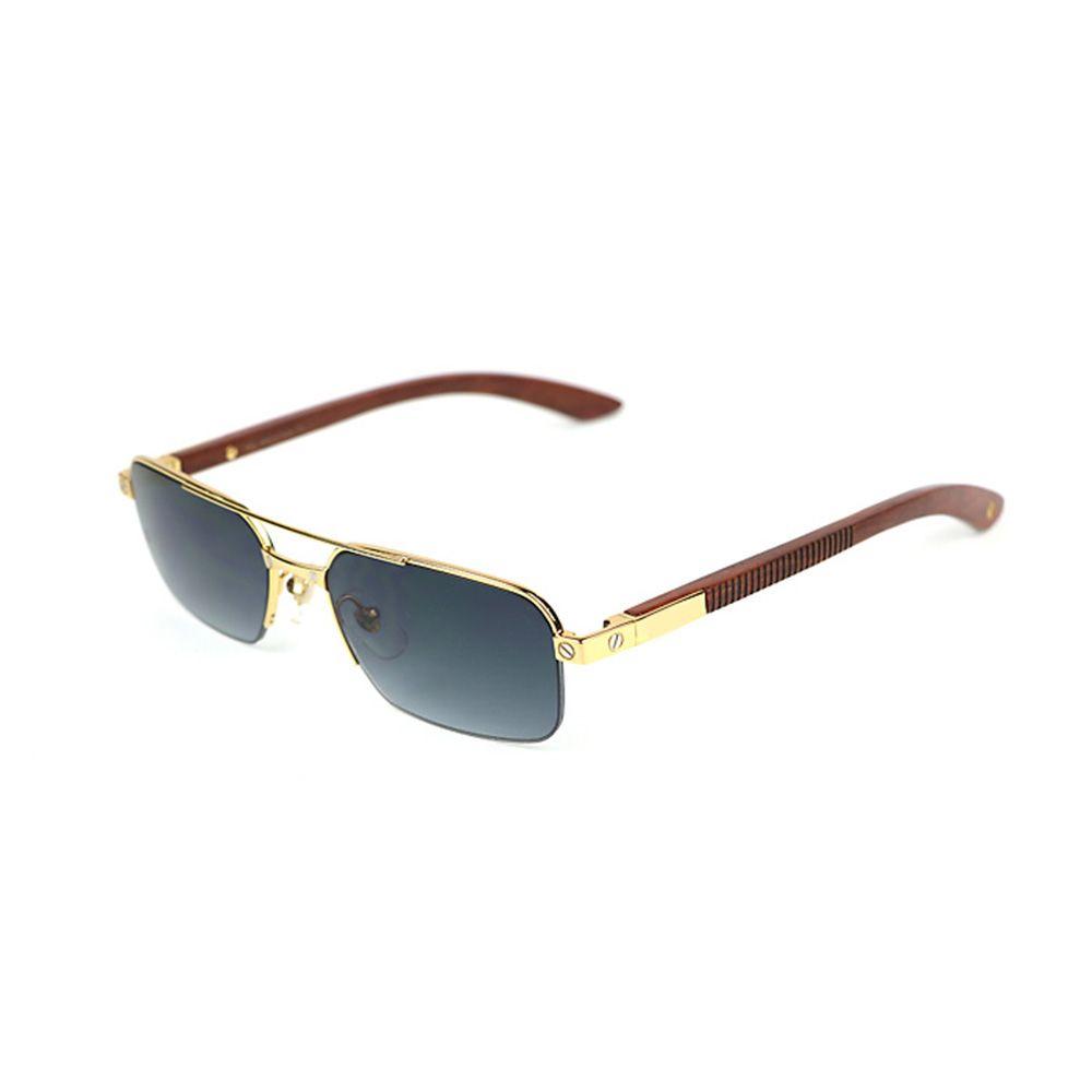 Holz Sonnenbrille Büffelhorn Brillen für Frauen und Männer Luxus Brillen für Lesen Myopie Vintage Rahmen 6101