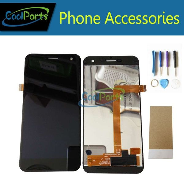 1PC/Lot For Wileyfox Spark LCD Display And Touch Screen Digitizer Assembly Replacement Part Black White Color With Tools&<font><b>Tape</b></font>