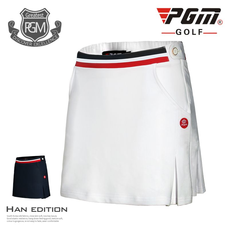 new golf skirt lady summer outdoor golf shorts girl spring golf apparel quick dry slim golf sports shorts skirts white and navy