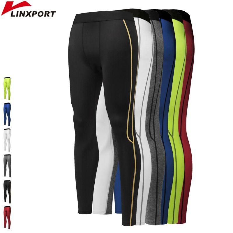 Hommes De Compression Sport Pantalon de Course Collants Sec Fit Base Couche de Remise En Forme Pantalon de Sport Musculation Maigre Workout Leggings