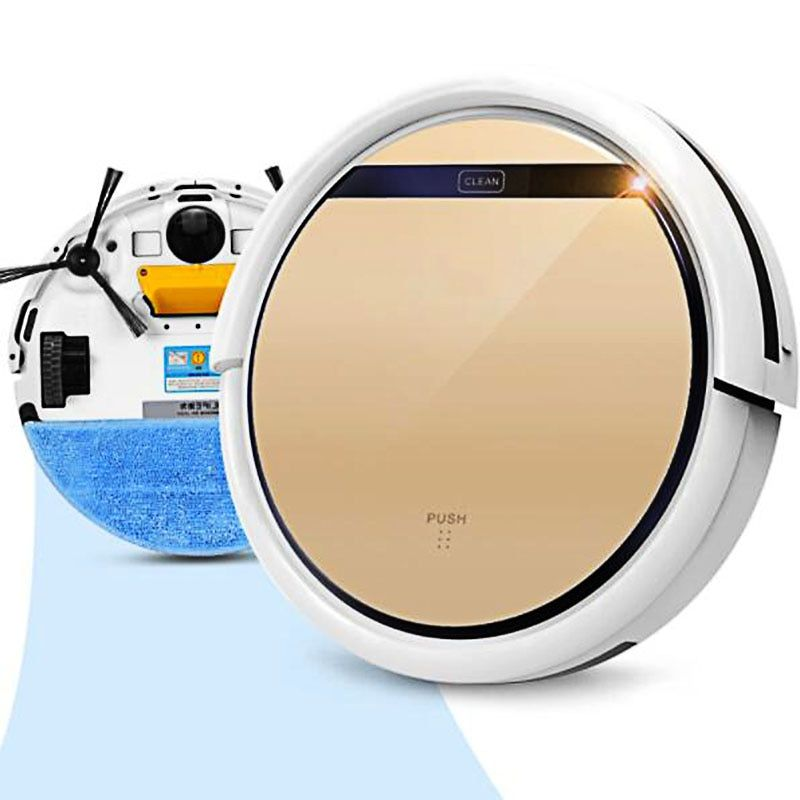 Robot Vacuum Cleaner ILIFE V5s for home automatic sweeping with Self-Charge Wet Mopping for Floor Time Schedule Robot Aspirator