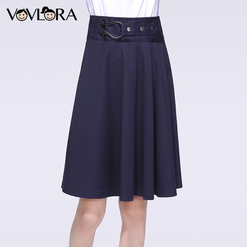 Kids School Skirts Knitted Solid Elastic Waist Children Skirt Knee-Length A-Line Girls Clothes Casual Size 9 10 11 12 13 14 Year
