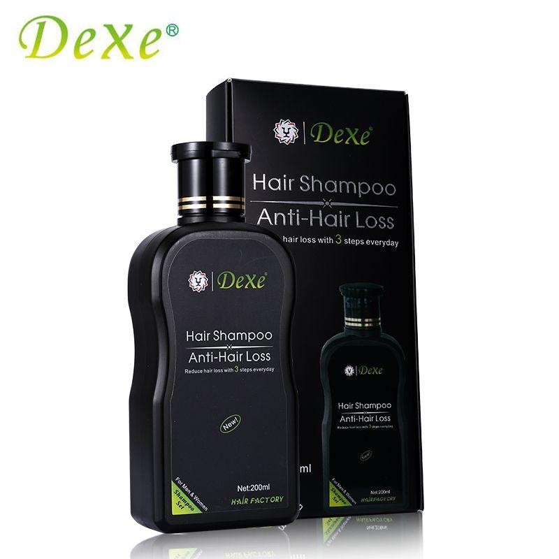 200 мл DEXE волосы шампунь против выпадения волос Китайская травяной продукт роста волос предотвратить волосы лечить Для мужчин t для мужчин и ...