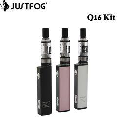 Original justfog Q16 Starter Kit 900 mAh batería con 1.9 ml Q16 tanque clearomizer cigarrillo electrónico vape pen vaporizador Kit