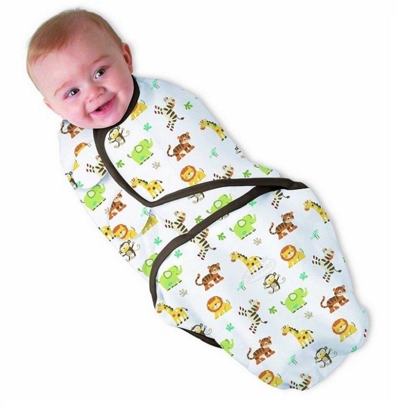 100% хлопок ребенка пеленать Обёрточная бумага Одеяло новорожденных младенцев конверт мешок сна sleepsack Мантас Para Bebe kf040s