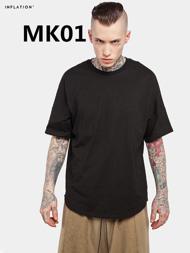 2018 Nouveaux arrivent Mode hommes 100% coton t chemise MK01 2 PCS/ENSEMBLE