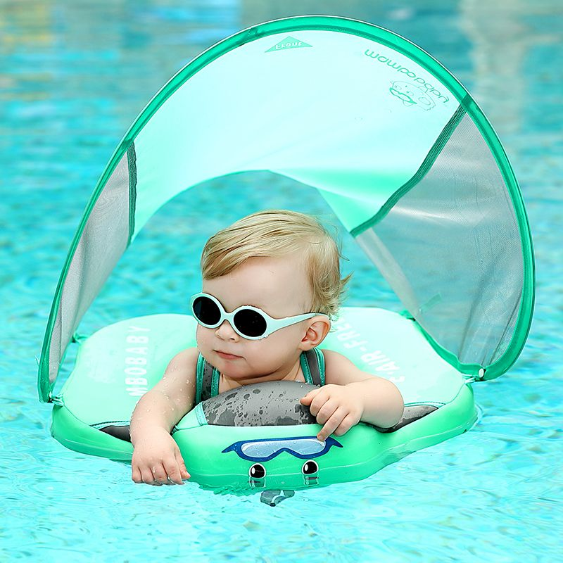 Solid No Inflatable Safety for accessories Baby Swimming Ring floating Swim ring float Suitable for 0-2-3-6 years old