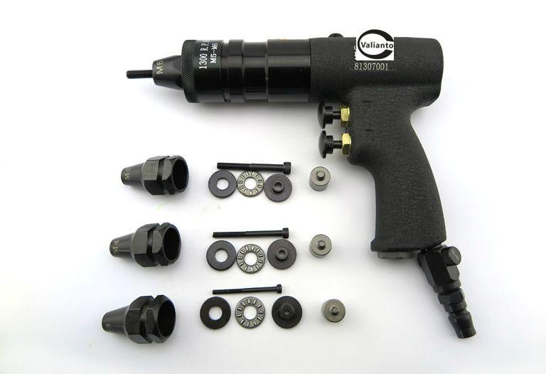GE804 Pneumatic Rivet Nut Gun Pull Nut Self Locking Pulling Cap Gun Type Air Riveter M6 M8 M10