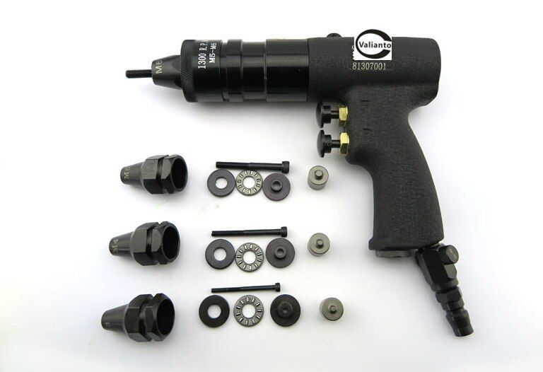 GE804 Pneumatic Rivet Nut Gun Pull Nut Self Locking Pulling Cap Gun Type Air Riveter M6 M8 M10
