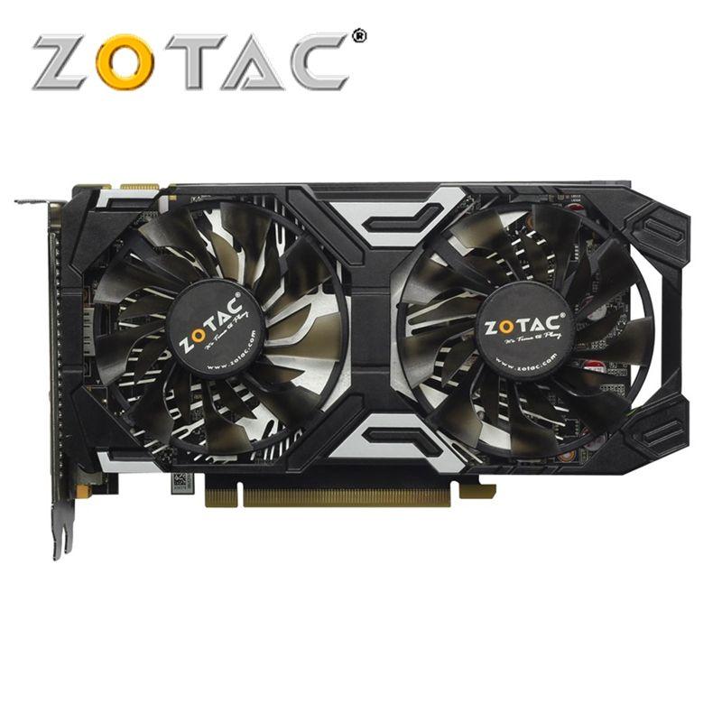 ZOTAC Original GeForce GTX 950 2GB Video Card 128Bit GDDR5 Graphics Cards for nVIDIA Map GTX950 Thunder Edition GTX 950-2GD5