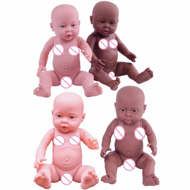 41cm Baby Simulation Doll Soft Children Reborn Baby Doll Toy Newborn Boy Girl <font><b>Birthday</b></font> Gift Emulated Dolls Baby Growth Partners