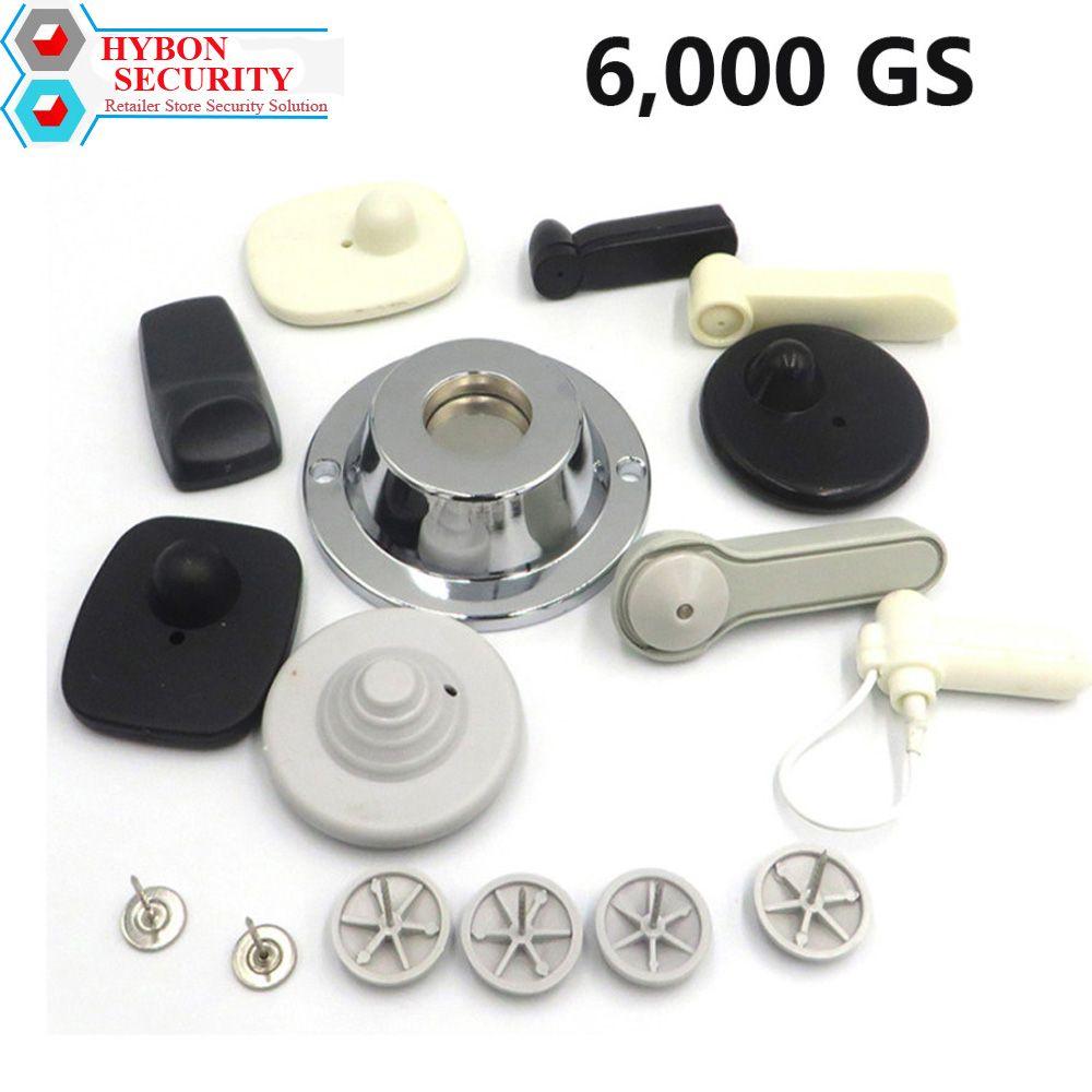Détacheur d'étiquette de sécurité HYBON EAS 6000gs détacheur magnétique de système d'alarme de vêtements Gancho Alarma détachant d'étiquette de sécurité d'aimant