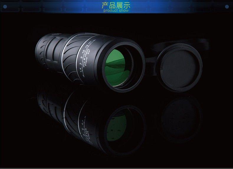 2016 Panda 40x60 Увеличить Открытый Высокое качество телескоп Монокуляр HD видения Телескопы Охота Военная Монокуляры бинокль