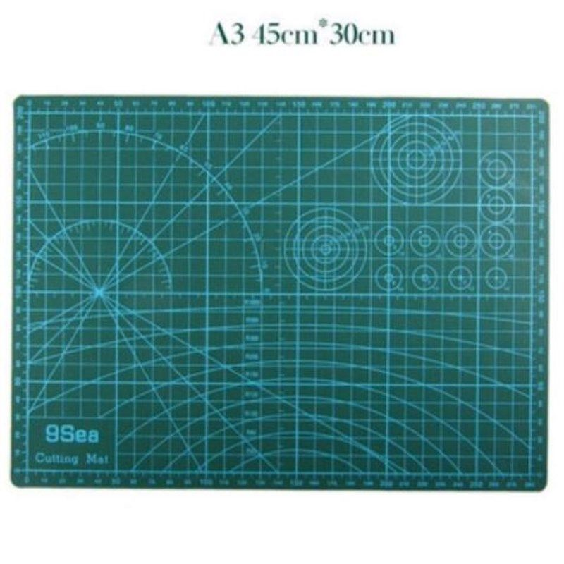 A3 Pvc Rectangle <font><b>Grid</b></font> Lines Double-sided Available Self Healing Cutting Mat Tool Fabric Leather Paper Craft DIY tools 45cm * 30c