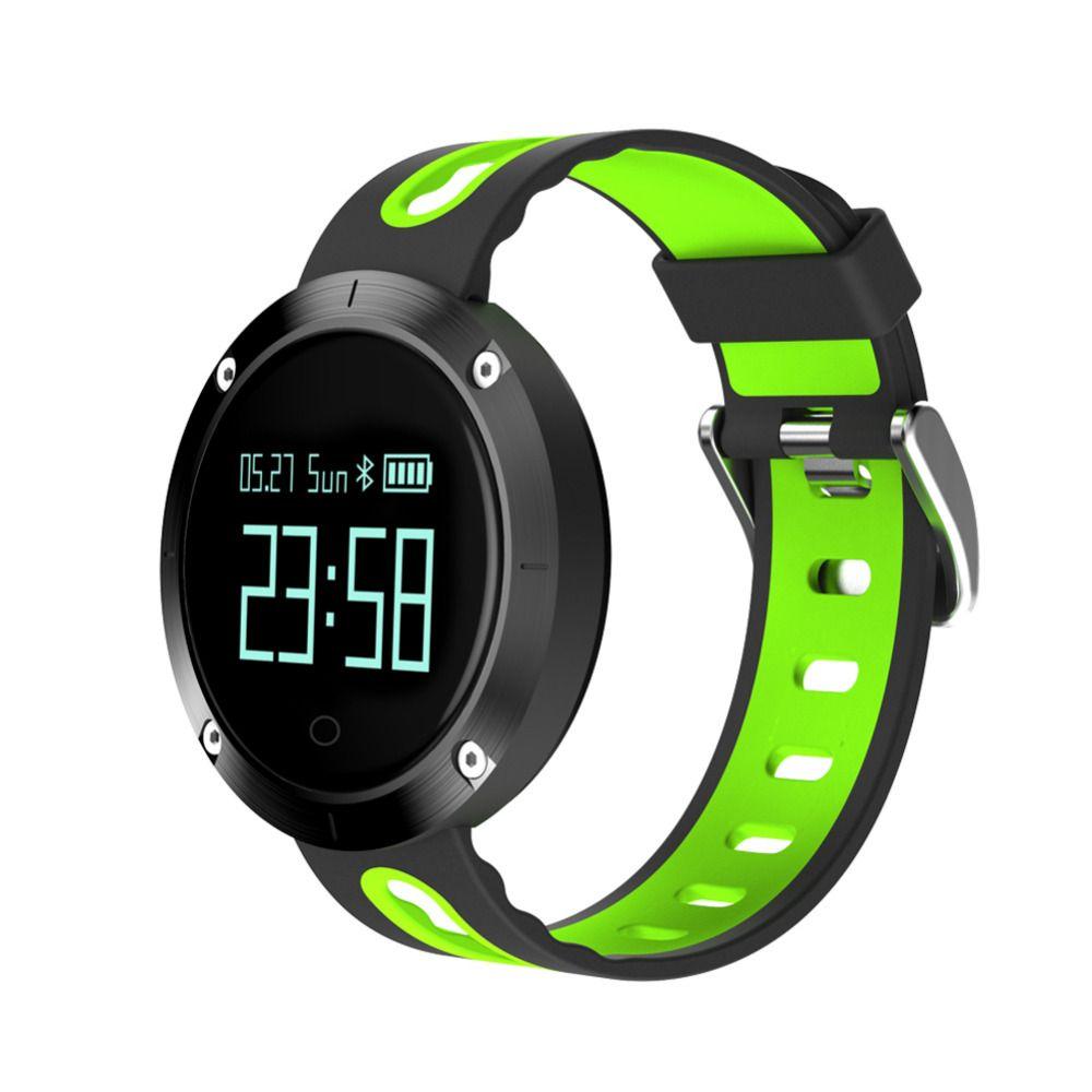 Étanche Sport Bracelet DM58 Smart Bande de Fréquence Cardiaque Montre de La Pression Artérielle À Puce Bracelet Fitness Tracker pour IOS Android C1