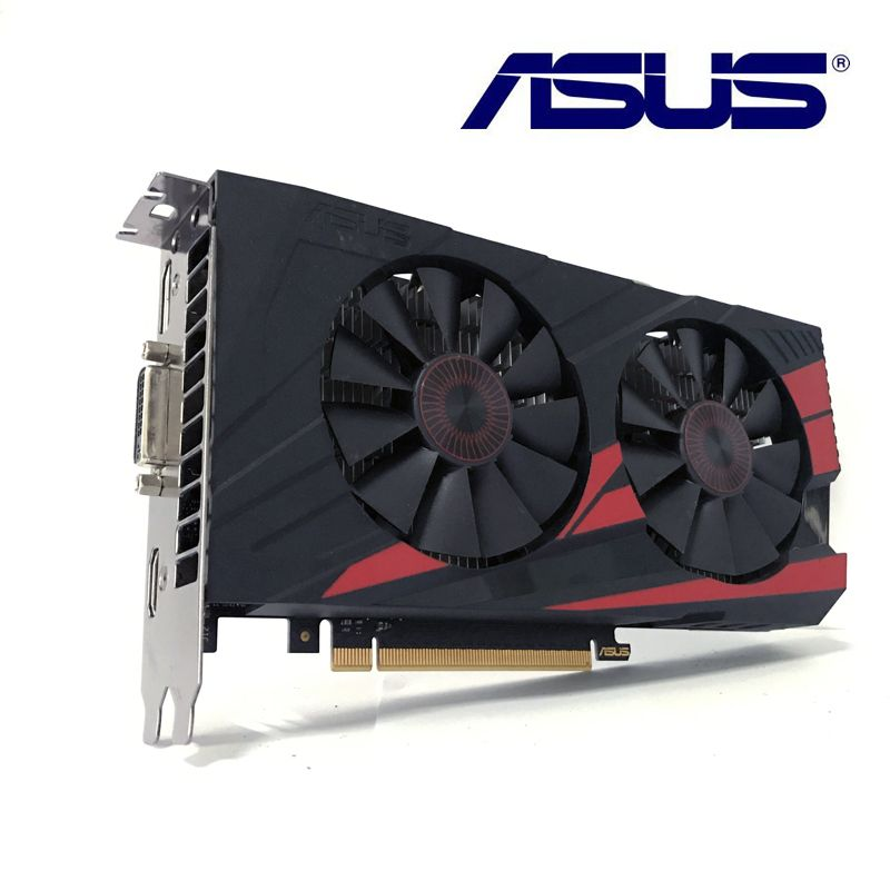 Asus GTX-950-OC-2GB GTX950 2G D5 DDR5 128 bits cartes graphiques nVIDIA pc de bureau PCI Express 3.0 VGA DVI HDMI